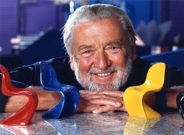 Вернер Пантон - датский дизайнер и архитектор